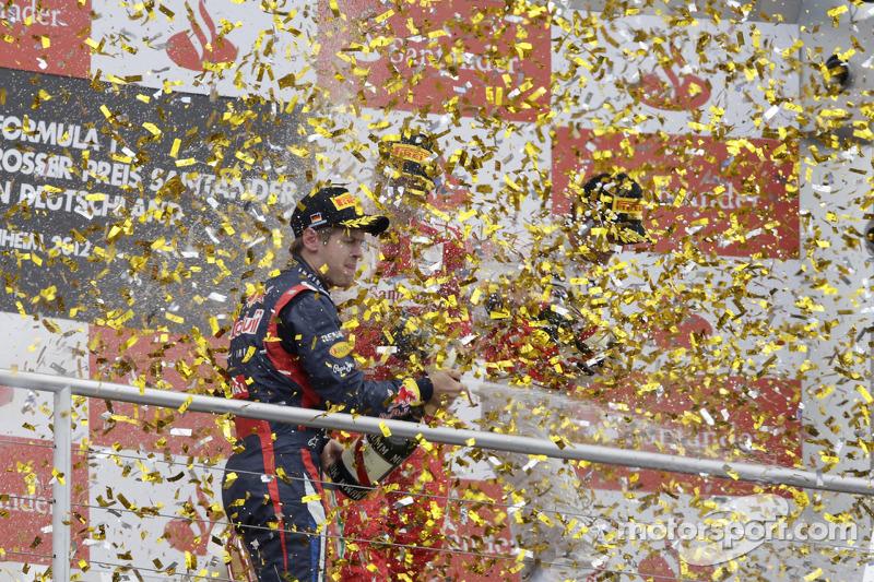 2nd Sebastian Vettel, Red Bull Racing
