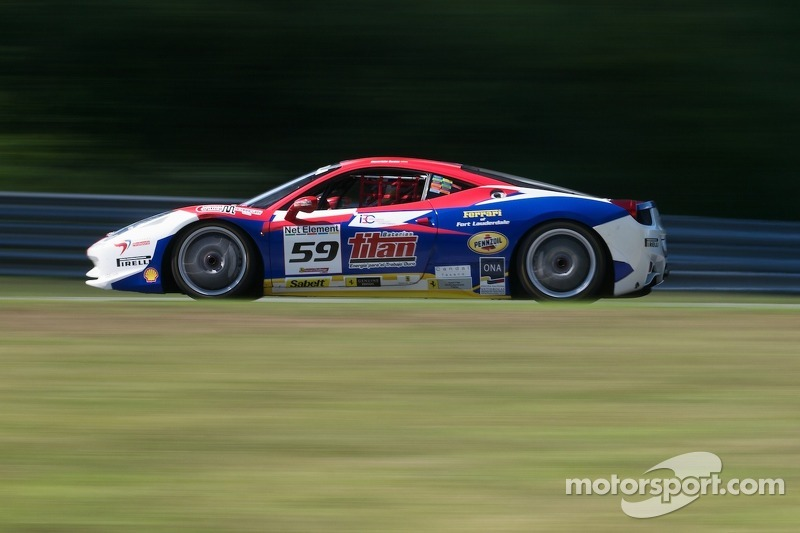 #59 Ferrari of Ft. Lauderdale 458CS: Maurizio Scala