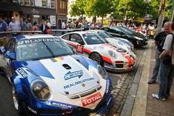 #58 Exagon Engineering  Porsche 997 GT3 R: Christian Kelders, Daniel Desbrueres, Jean-Luc Blanchemain