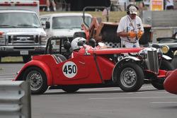 #450, 1953 MG TD, Mike Barstow