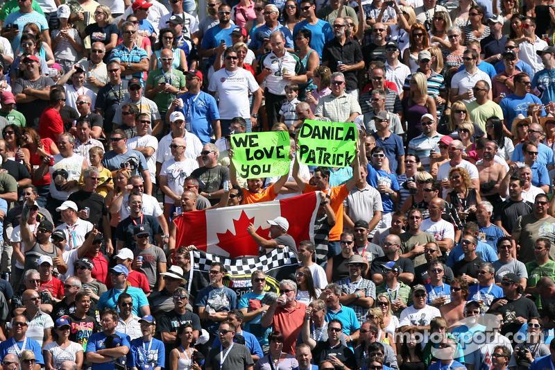 Fans van Danica Patrick