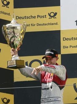 Podium, 2nd Edoardo Mortara, Audi Sport Team Rosberg Audi A5 DTM
