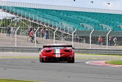 #61 AF Corse-Waltrip Ferrari 458 Italia: Piergiuseppe Perazzini, Marco Cioci, Matt Griffin
