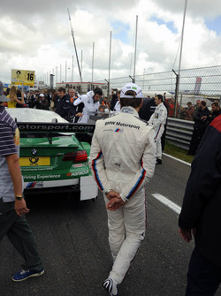 Augusto Farfus Jr., BMW Team RBM BMW M3 DTM; inspection lap