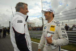 Jens Marquardt, BMW Motorsport Director; Andy Priaulx, BMW Team RBM