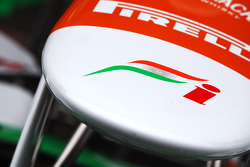 Front wing detail of Sahara Force India Formula One Team