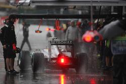 Nico Rosberg, Mercedes GP in de regen