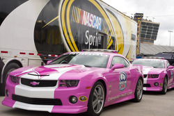 Pink pace car