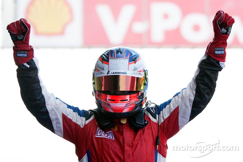 Race 2 winner Matias Laine