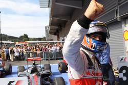 1ste plaats Jenson Button, McLaren Mercedes
