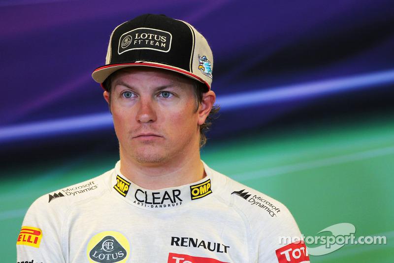 2012 - Kimi Raikkonen, Lotus