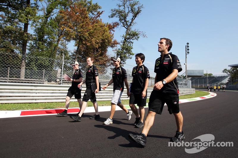 Jérôme d'Ambrosio, Lotus F1 Team op circuit