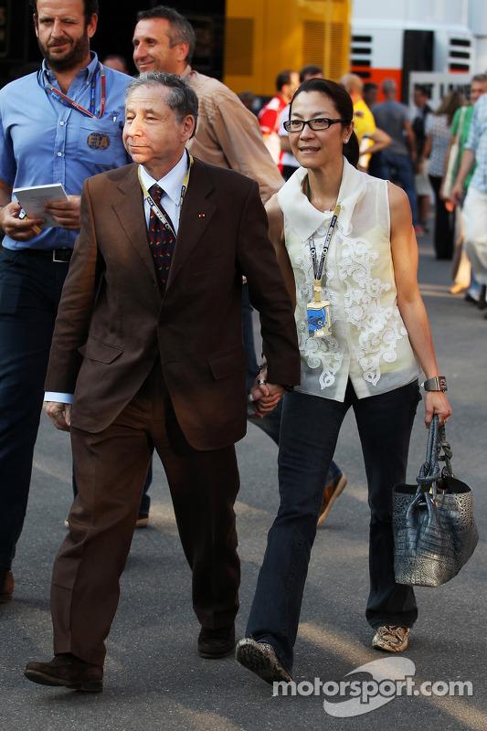Jean Todt, FIA President met Michelle Yeoh