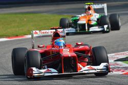 Fernando Alonso, Ferrari voor Nico Hulkenberg, Sahara Force India F1