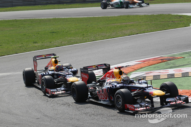 Sebastian Vettel, Red Bull Racing voor Mark Webber, Red Bull Racing