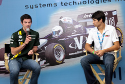 Alexander Rossi and Kyle Kaiser