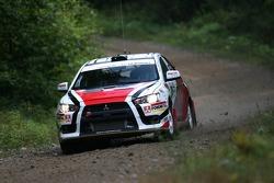 Tibor Kertes and Spencer Armstrong, Mitsubishi EVO X