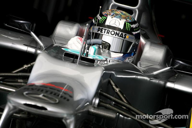 Sam Bird, test driver, Mercedes AMG F1
