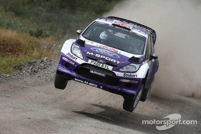 Matthew Wilson and Scott Martin, Ford Fiesta RS WRC