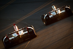 Graham Rahal, Service Central Chip Ganassi Racing Honda en J.R. Hildebrand, Panther Racing Chevrolet