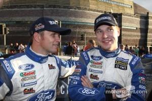 Petter Solberg and Jari-Matti Latvala, Ford World Rally Team