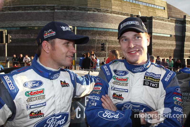 Петтер Сольберг і Ярі-Матті Латвала, Ford World Rally Team
