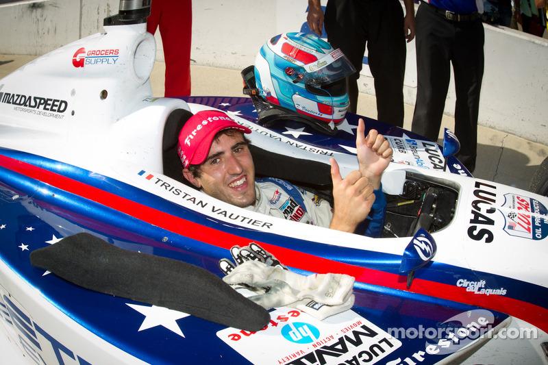 Indy Lights series 2012 kampioen Tristan Vautier, Sam Schmidt Motorsports