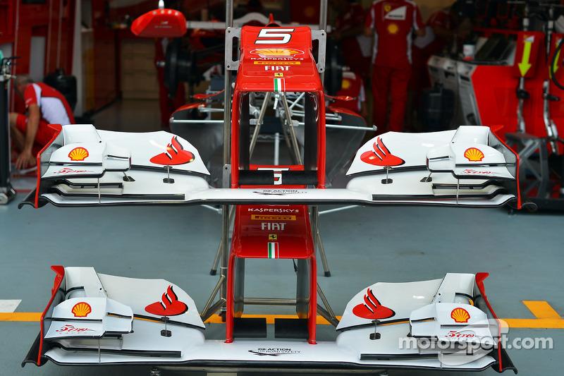 Ferrari front wings