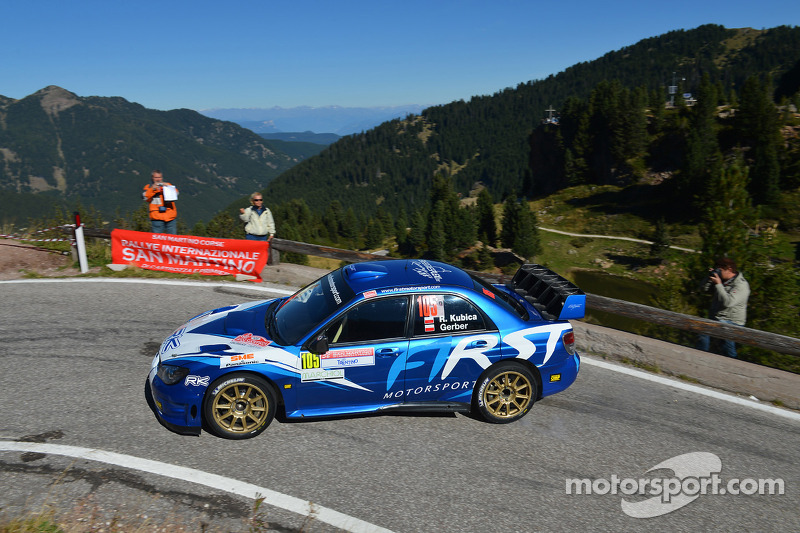 Robert Kubica First Motorsport Subaru Impreza Wrc At International