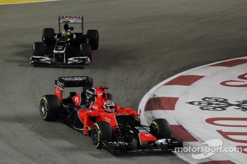 Гран При Сингапура-2012: сильный перформанс Глока