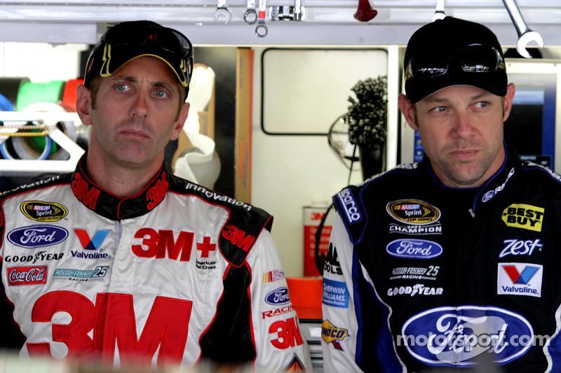 Greg Biffle and Matt Kenseth