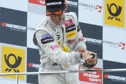 Podium: second place Daniel Juncadella
