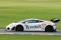 #25 Reiter Engineering Lamborghini Gallardo LP600: Peter Kox, Stefan Rosina