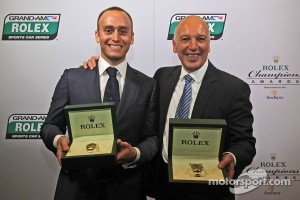 2012 GT champions Jeff Segal and his co-driver Emil Assentato