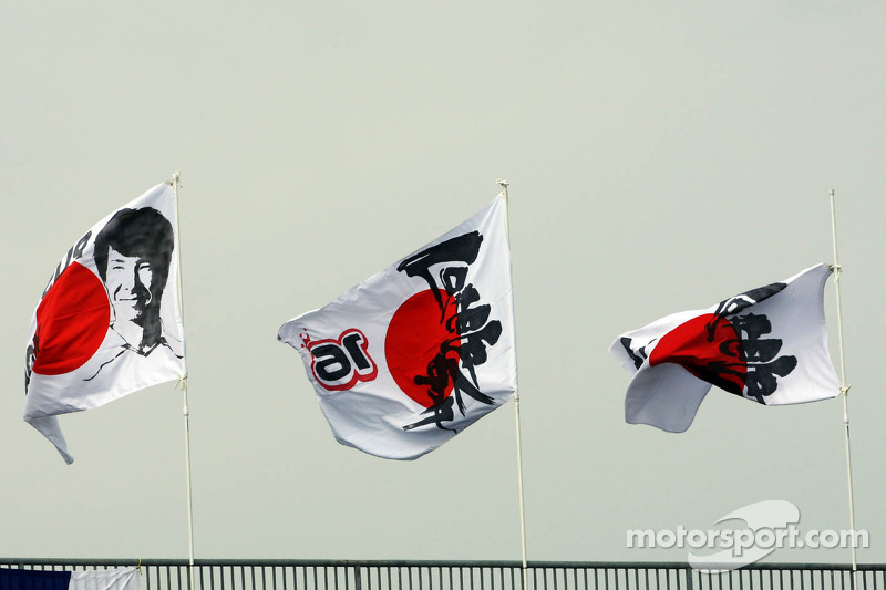 Vlaggen voor Kamui Kobayashi