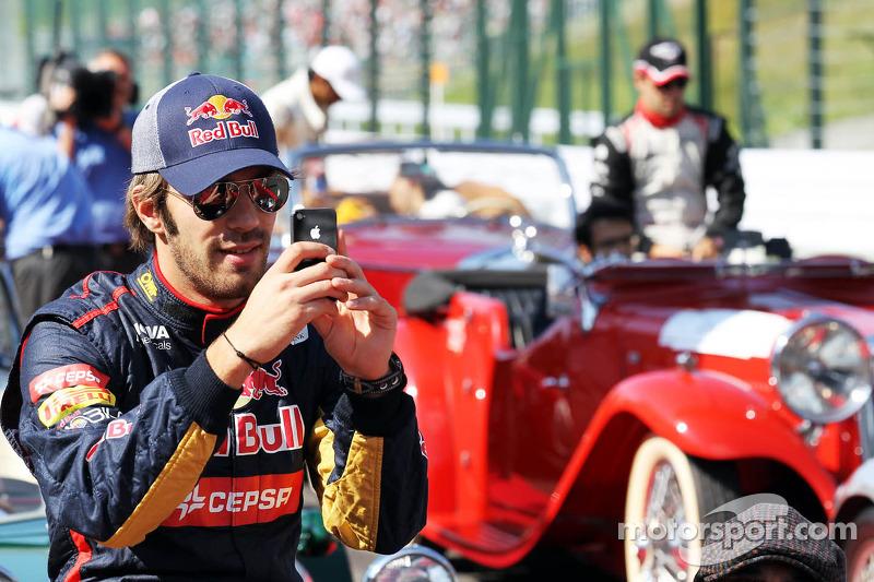 Jean-Eric Vergne, Scuderia Toro Rosso rijdersparade