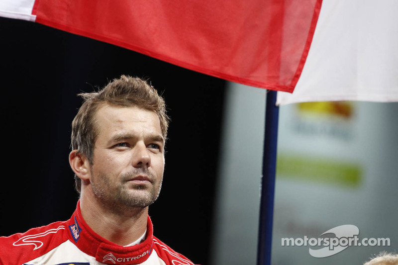 Rally winner and 2012 World Champion Sébastien Loeb, Citroën Total World Rally Team