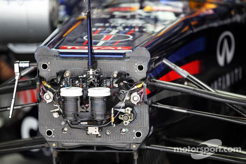Sebastian Vettel, Red Bull Racing cockpit