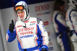 Toyota Racing crew member at work