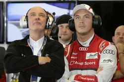 Dr. Wolfgang Ullrich, head of Audi Sport, Andre Lotterer
