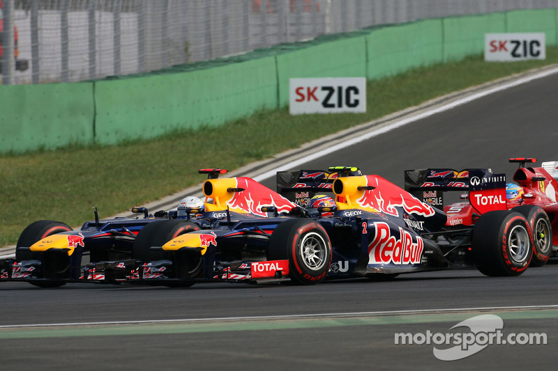 Sebastian Vettel, Red Bull Racing en Mark Webber, Red Bull Racing