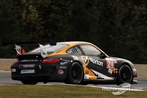 #24 Competition Motorsports Porsche 911 GT3 Cup at  Road Atlanta, 2012