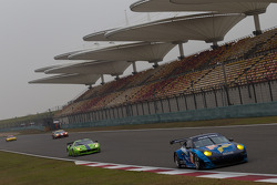 WEC GT class qualifying session at Shanghai circuit