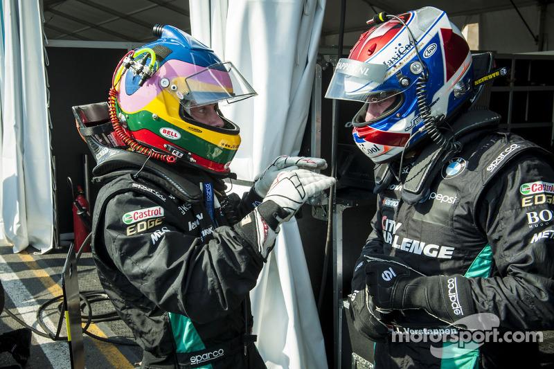 Jacques Villeneuve en Jos Verstappen