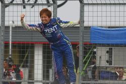 GT500 winner Kohei Hirate