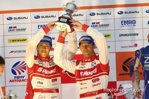 GT500: 2012 champions Masataka Yanagida, Ronnie Quintarelli