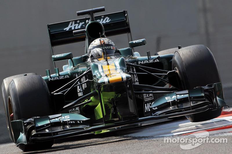 Giedo van der Garde, Caterham CT01 Third Driver