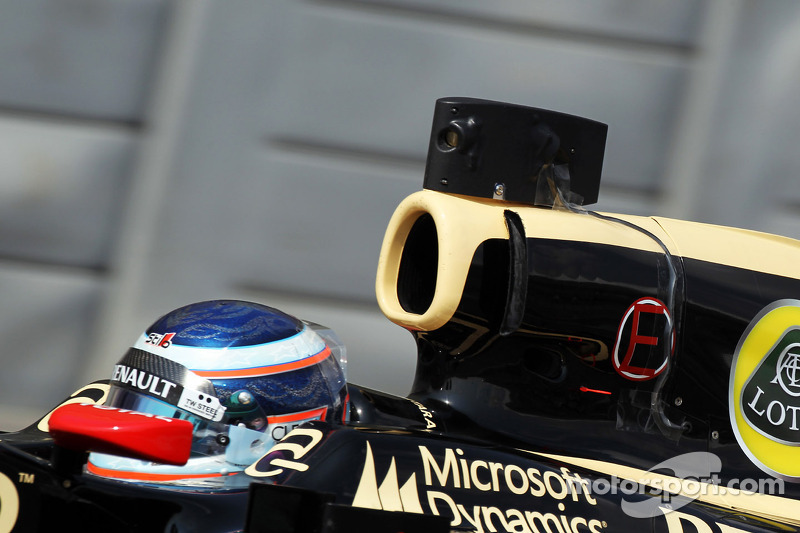 Gereedschap Lotus F1 Edoardo Mortara, Lotus F1 testrijder