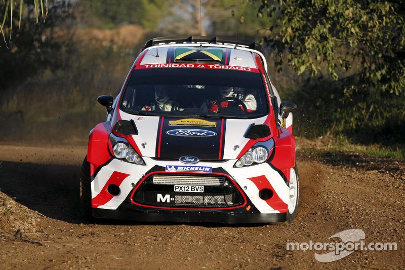 John Powell en Michael Fenell, Ford Fiesta RS WRC