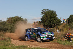 Jari-Matti Latvala y Miikka Anttila, Ford Fiesta RS WRC, Ford World Rally Team